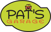 Pat's Garage - footer logo | San Francisco's Japanese Auto Repair Specialists